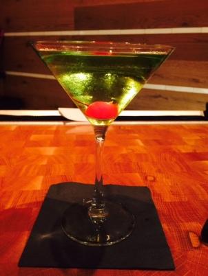 A martini at The Cosmopolitan