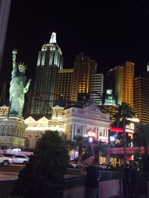 New York, Las Vegas