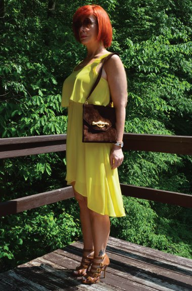 yellowdressoutfitstylaphile
