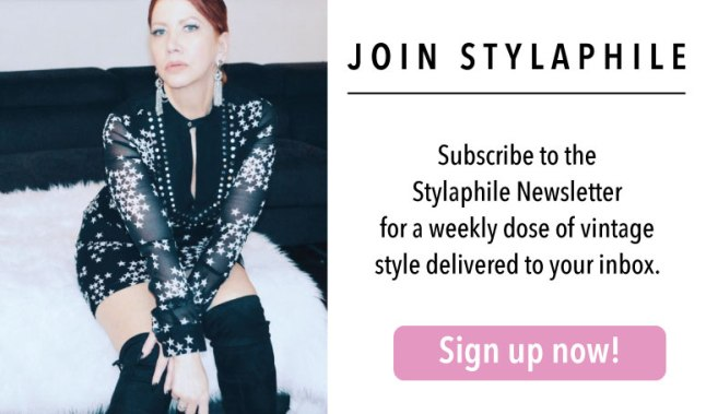 Join the Stylaphile mailing list
