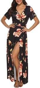Bohemian Maxi Dress Woodstock Style