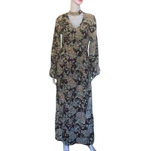 Woodstock Style Boho Maxi Dress