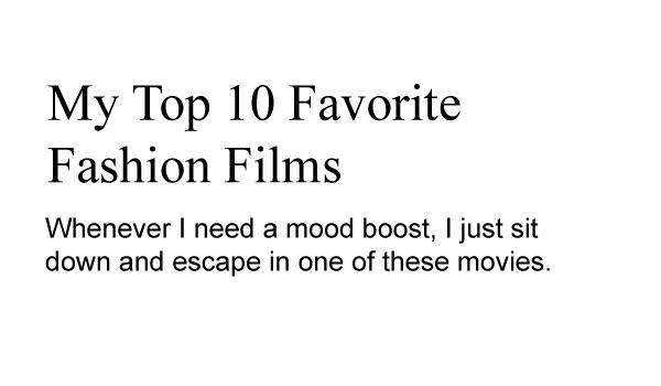 FavoriteFashionFilms